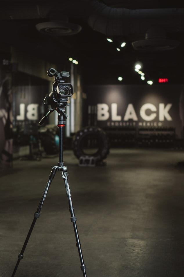 Camera in a gym