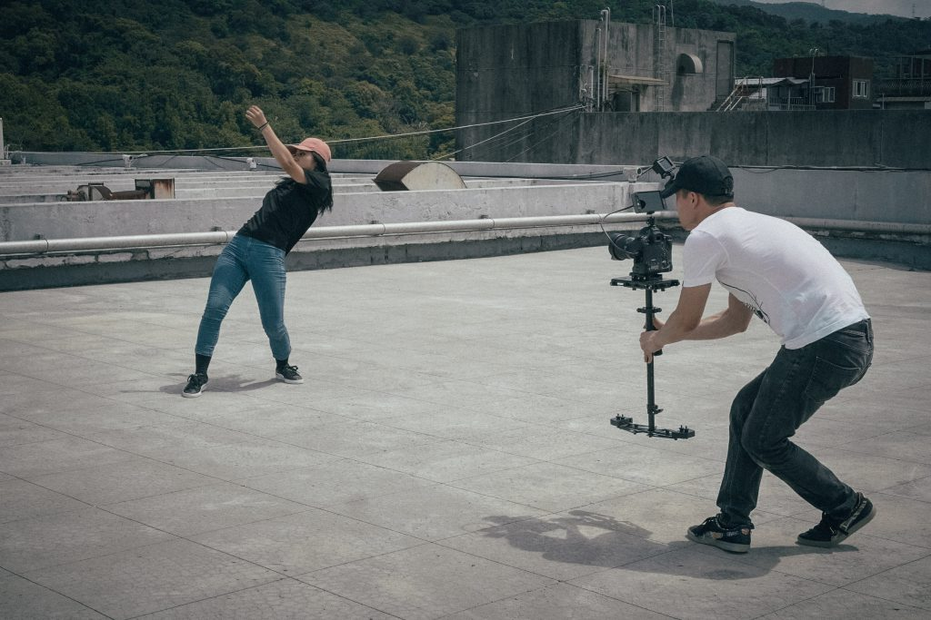 Outside footage